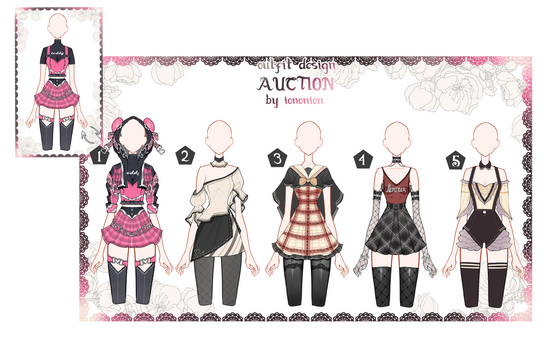 OPEN Auction Outfit Adoptable set 45