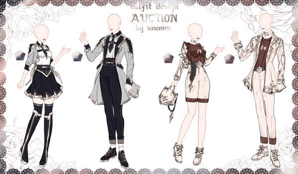 COUPLE SET 1 FULL BODY [OPEN] Auction Outfit Adopt