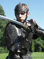 Drow Armor portrait by farmerownia