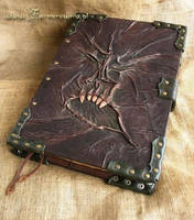 Spell Book Necronomicon by farmerownia