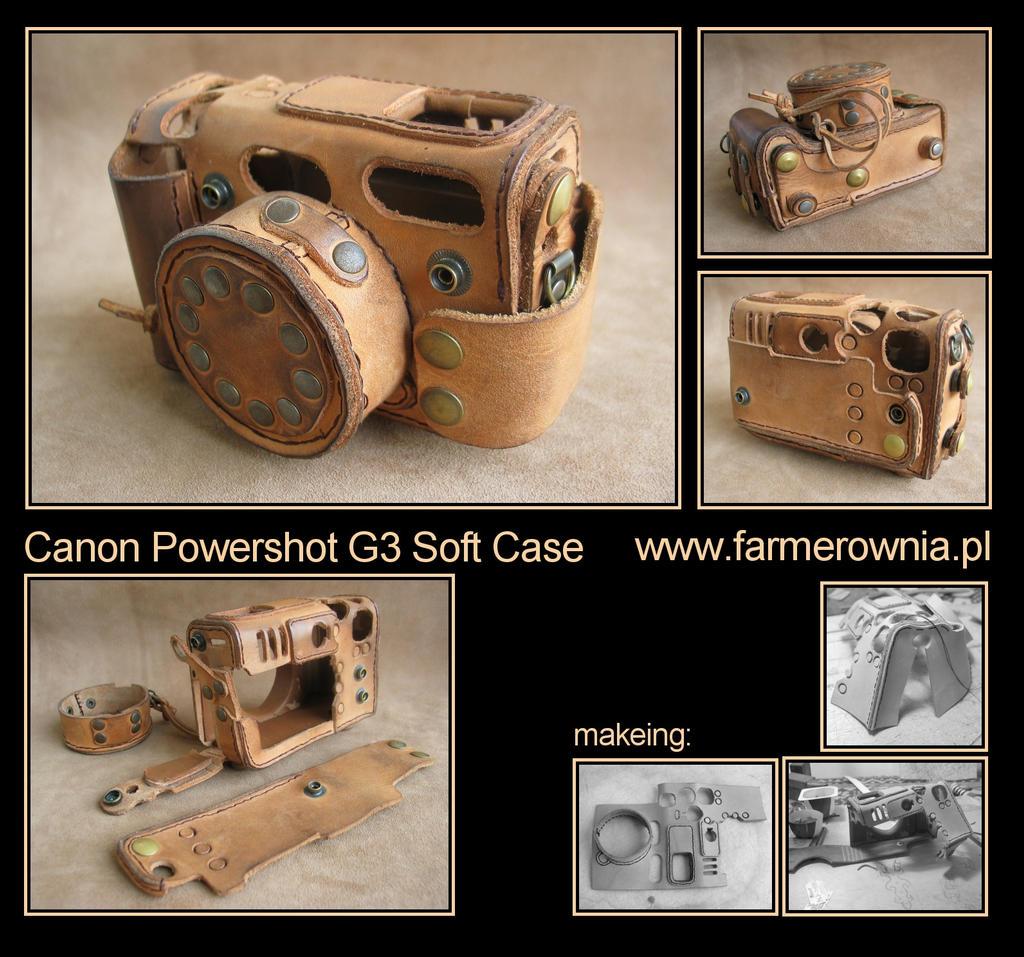 Canon Powershot G3 - softcase