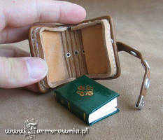 Small Thing with book by farmerownia