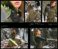 Jade Mistress - mage arm by farmerownia