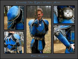 Van Eycke's Sepphire Armor by farmerownia