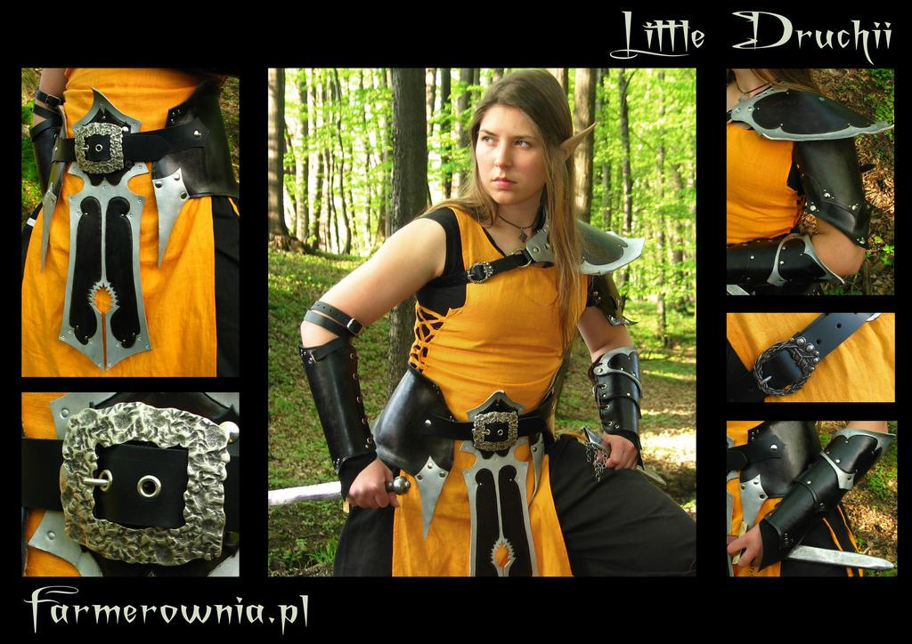 Little Druchi -small armor set by farmerownia