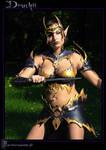 Druchii  Dark Elf Bikini Armor