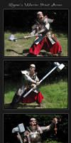 Sigmar Priest Armor posing