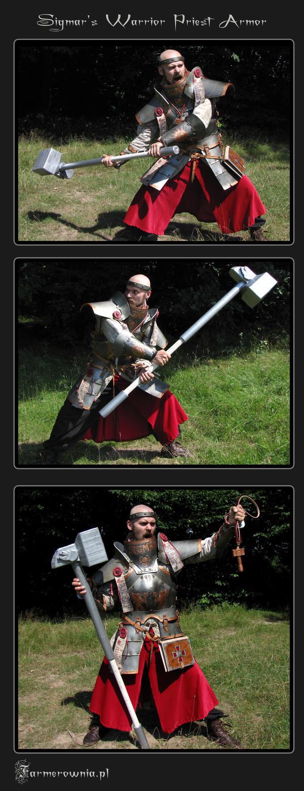 Sigmar Priest Armor posing by farmerownia