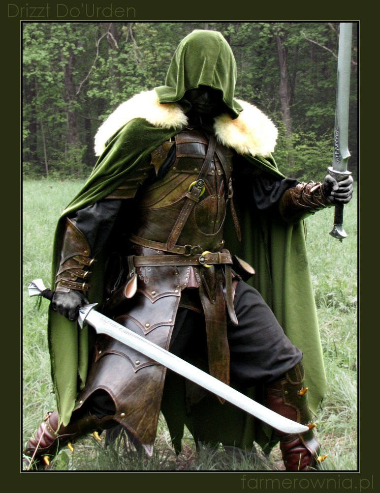 Drizzt Do'Urden - more by farmerownia