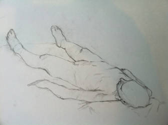 Life Drawing No. 12 by sketchseven