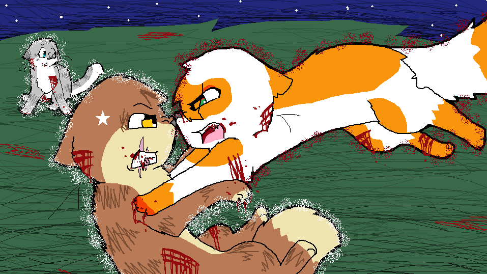 crookedstar vs mapleshade the last hope version by