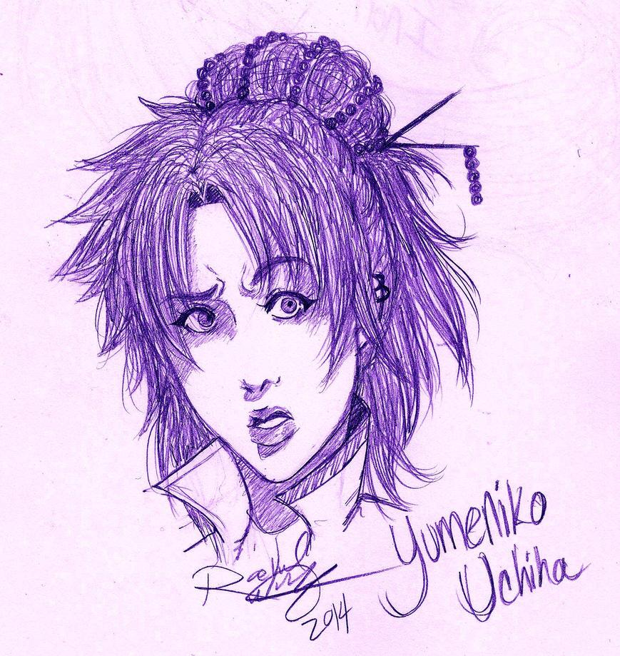 Yumeniko Uchiha. by yumyumstrawberries