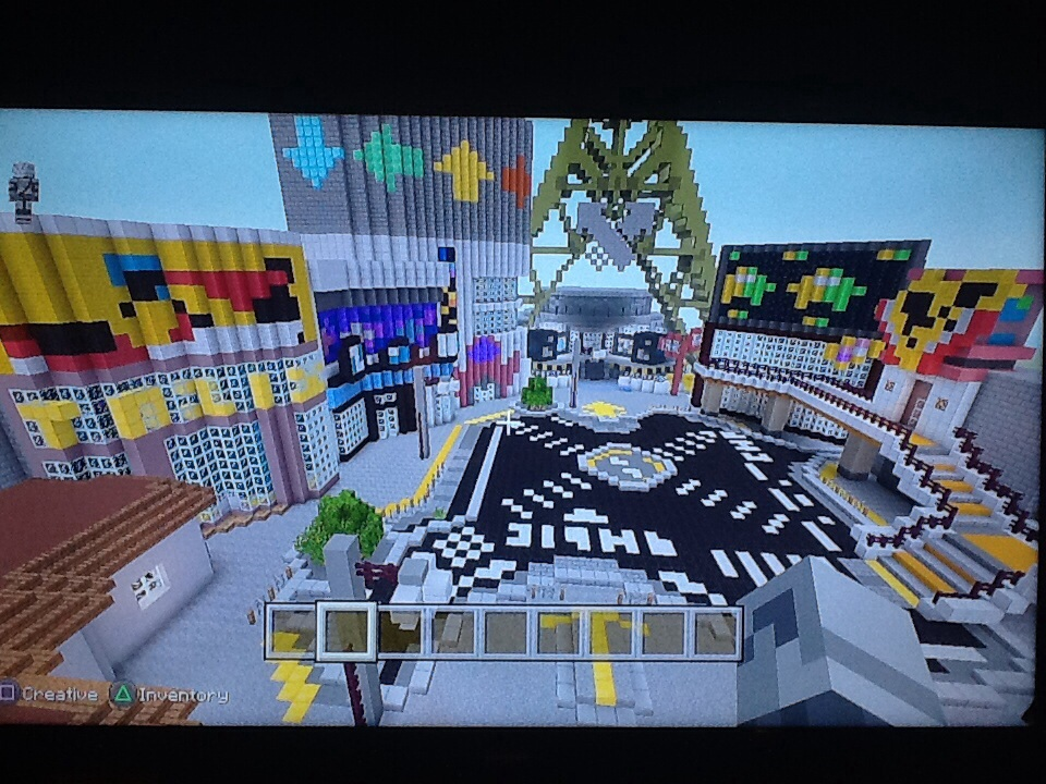 Minecraft Inkopolis By Gem A Knight On Deviantart