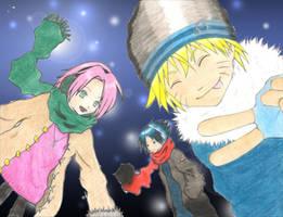 Naruto winter- color