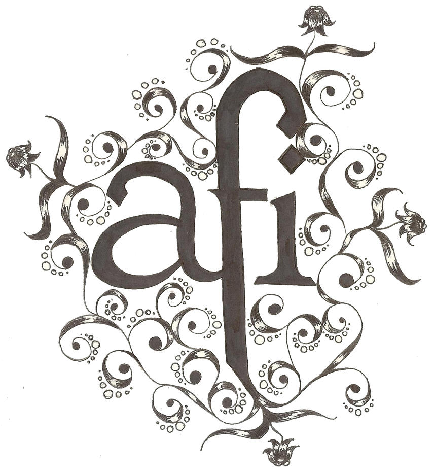 afi tattoo by beygurl on deviantart. Black Bedroom Furniture Sets. Home Design Ideas