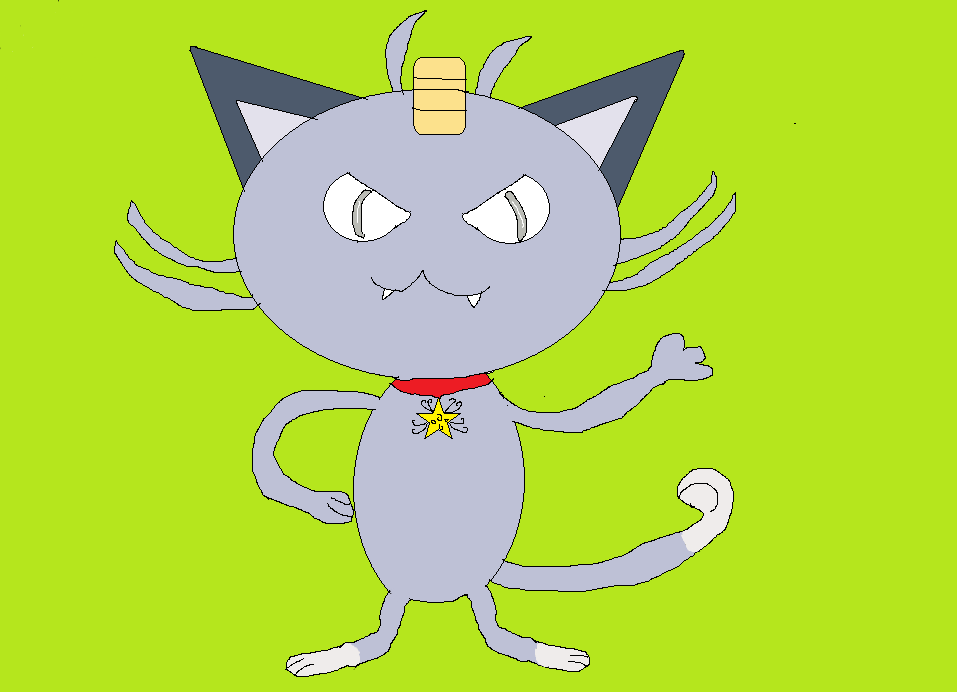 alolan meowth xmas by ragingcatsire