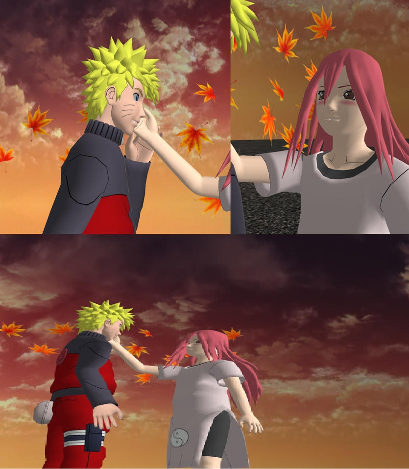 Naruto X Tayuya: Sunset touch by neuroticchaos