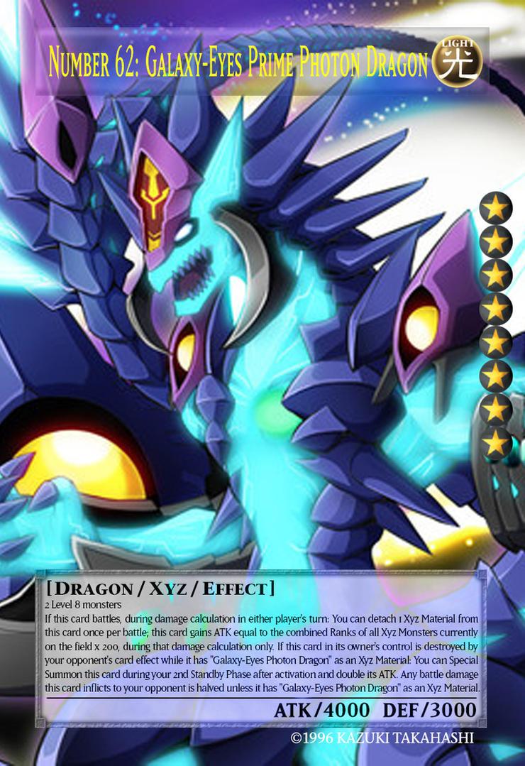 Number 62 Galaxy-Eyes Prime Photon Dragon  Orica  by masayukisettsuYugioh Number 62 Galaxy Eyes Prime Photon Dragon