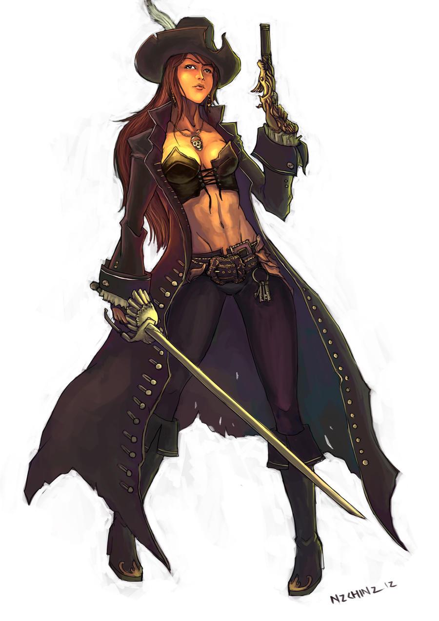 Pirats! joho! -EVERYBODY! SING- Pirate_captain_by_n2c-d4u9wzj