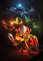 Dragon Knight dota 2 by n2c