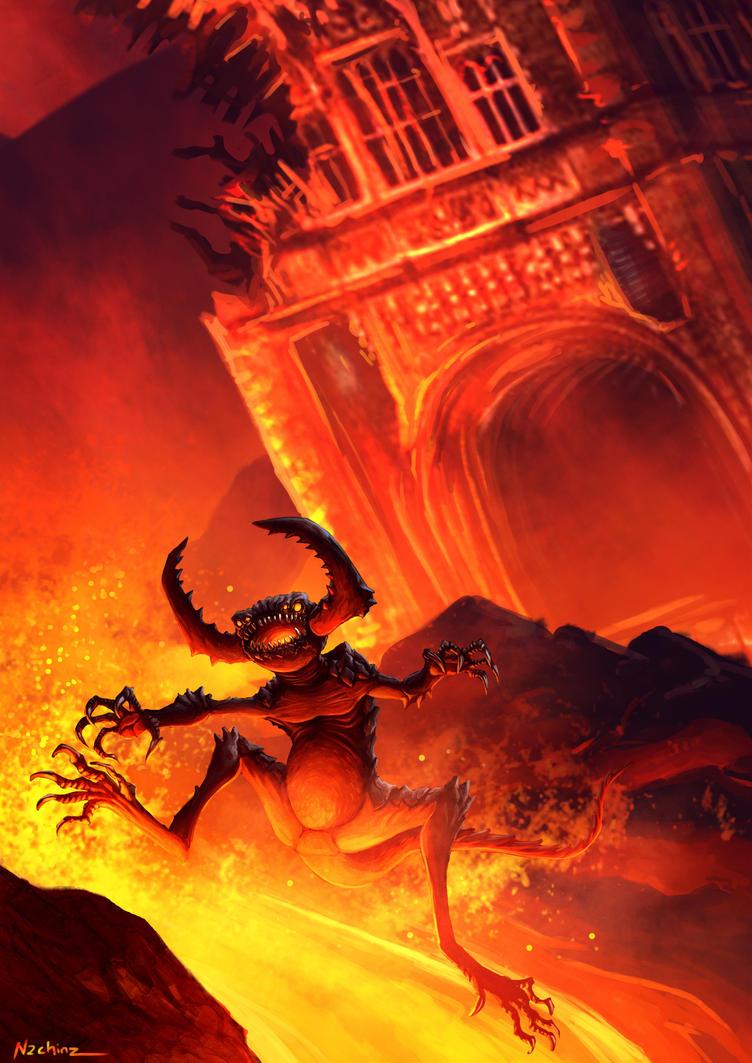 Running Devil by n2c