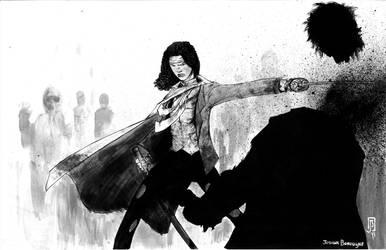 Michonne by giberwitz