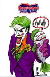 Joker And Fish by giberwitz