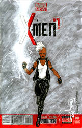 Storm sketch cover by giberwitz
