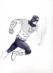 Captain America WIP by giberwitz