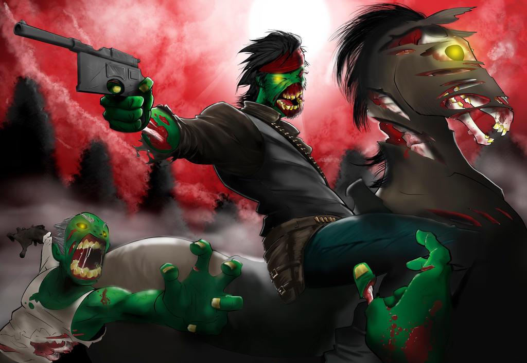 Red Dead Nightmare by ArotzarenaARTs