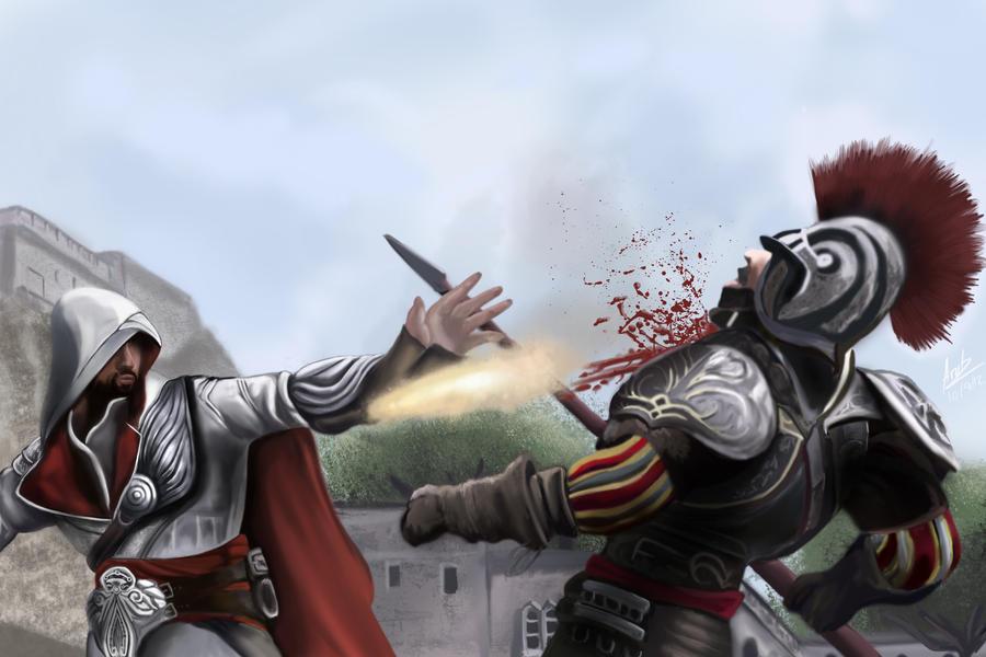 Assassins Creed Brotherhood by ArotzarenaARTs