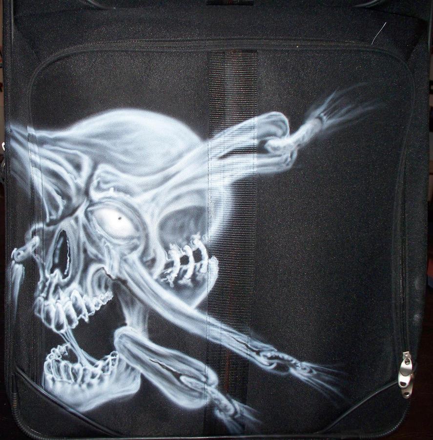 Art Paintings In Air Luggage