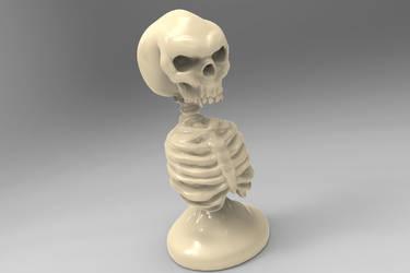Skull Pawn by ArotzarenaARTs