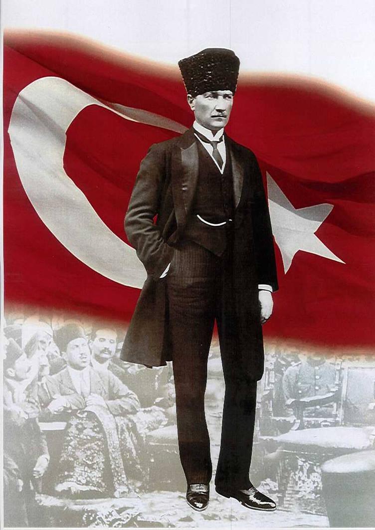 Mustafa Kemal Ataturk By Ataturkcu Dusunce On Deviantart