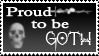 Proud to be Gothic - Stamp by Firethrill
