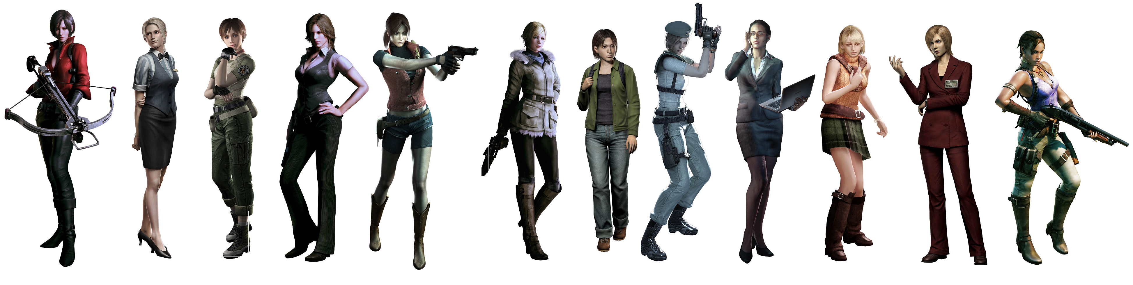 Resident evil female characters porn naked pic