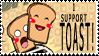 i support toast by badcop69
