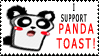 i support panda toast by badcop69