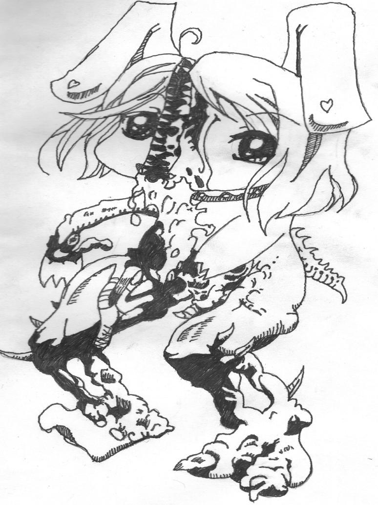 Creepy cute series I bunny girl by badcop69