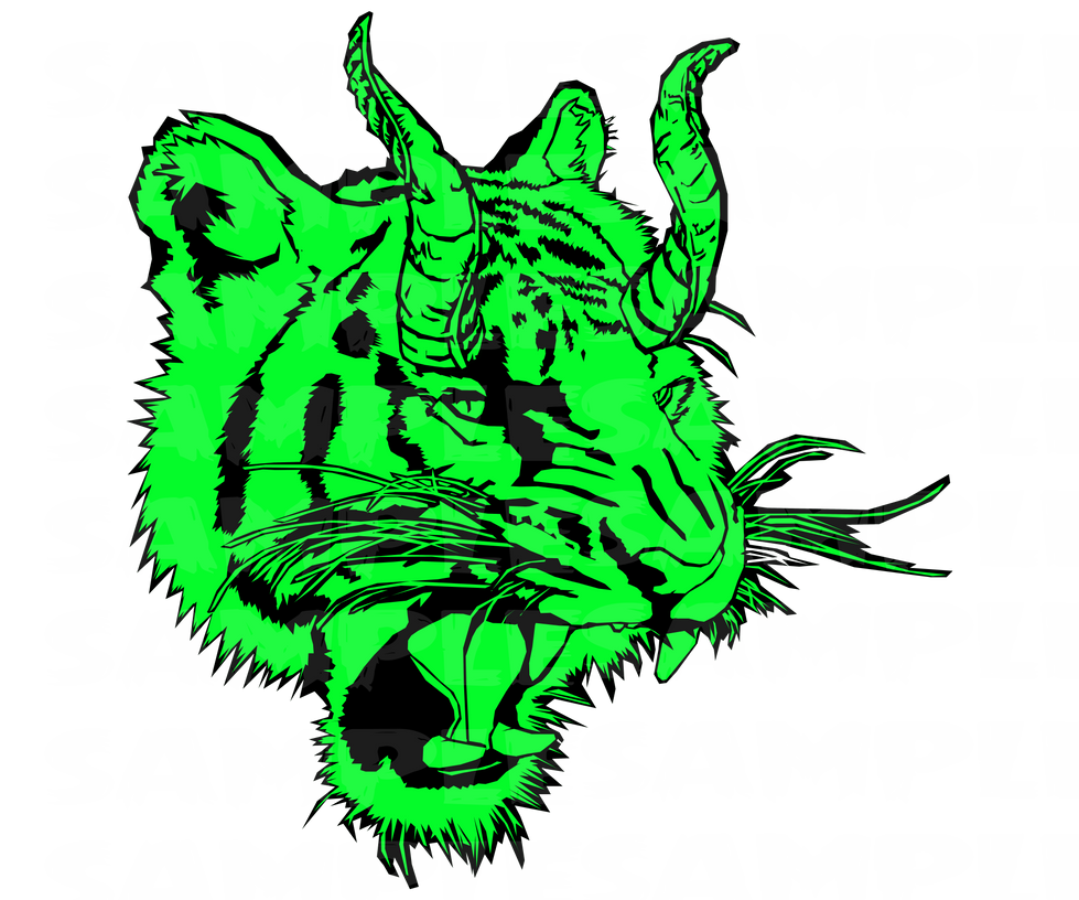 Neon Demon Tiger Design by badcop69