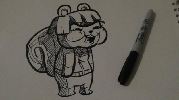 Animal Crossing Hazel Goofy