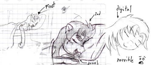 Sleeping - Fail Concep Art? by mariodan