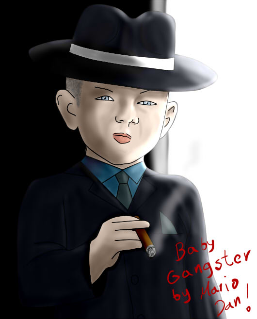 Baby Gangster by mariodan ...  sc 1 st  mariodan - DeviantArt & Baby Gangster by mariodan on DeviantArt