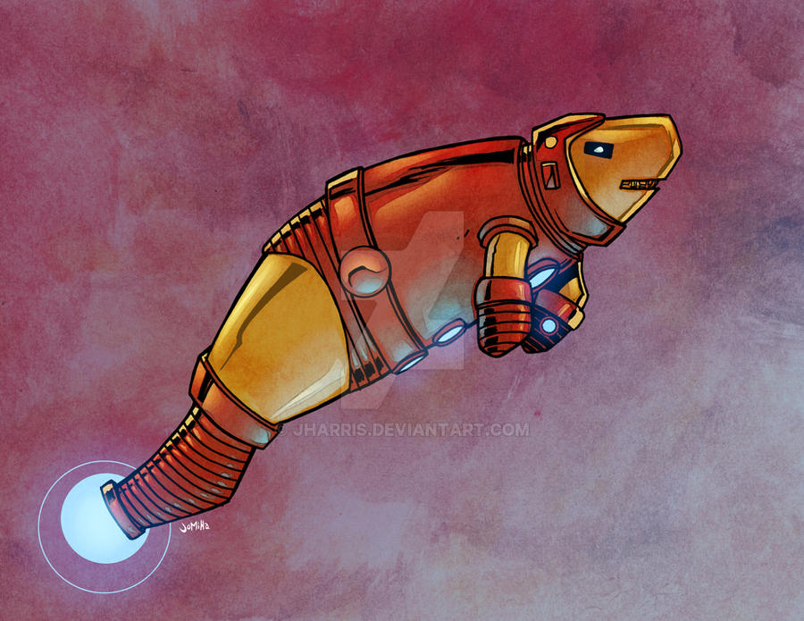 Iron Manatee by jharris
