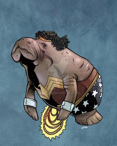 Wonder Womanatee?!