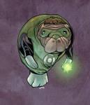 Green Lantern Manatee