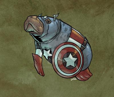 Captain Amanatee...? by jharris