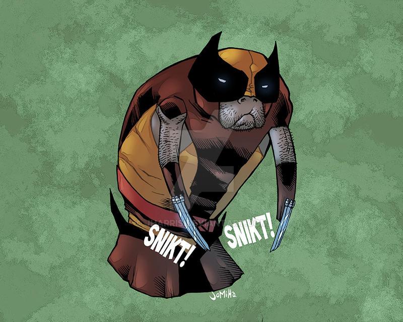 Wolverine manatee by jharris