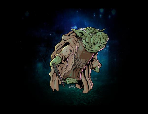 Yoda by jharris