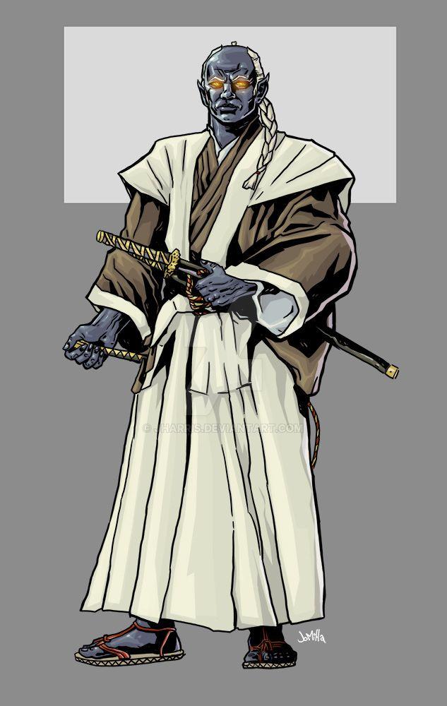 Indigo Samurai by jharris
